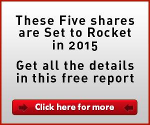 Five shares set to rocket