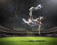 How does the weather affect the outcome of a soccer game?