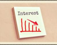 The interest rate will drop at the end of March!